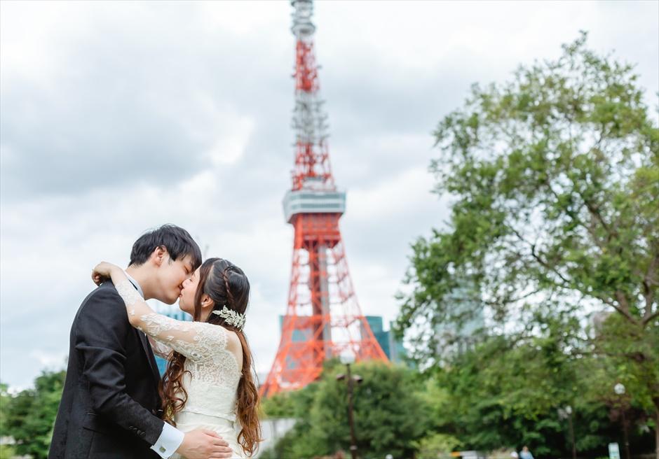 タキシード&ドレスレンタル 東京タワーフォトウェディング